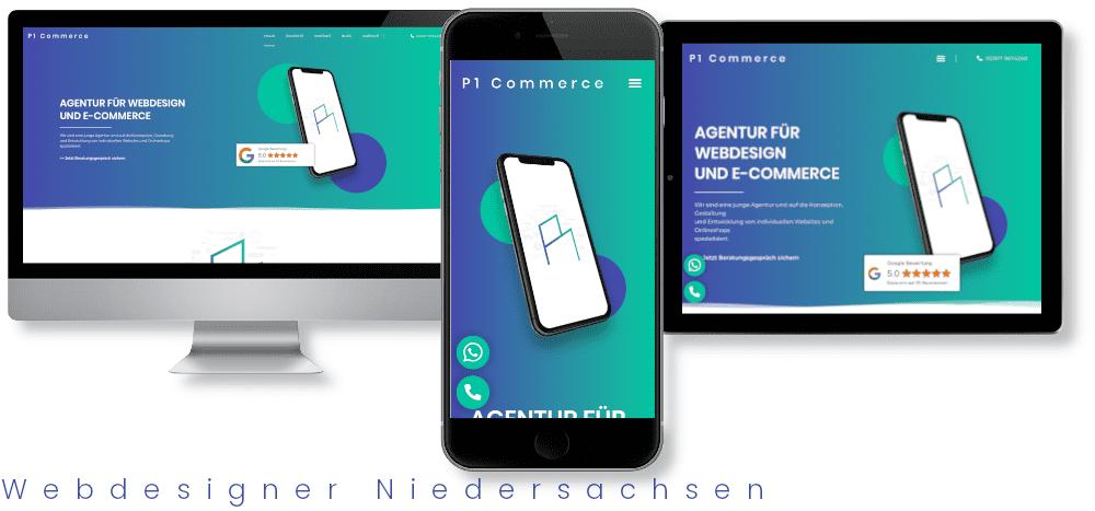 Webdesigner Niedersachsen